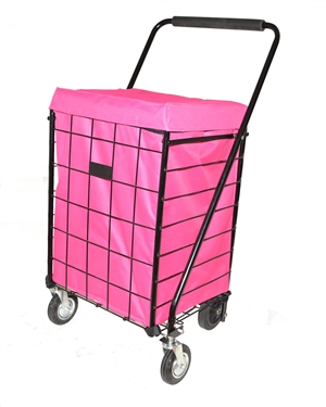 Deluxe Hooded Grocery Cart Liner