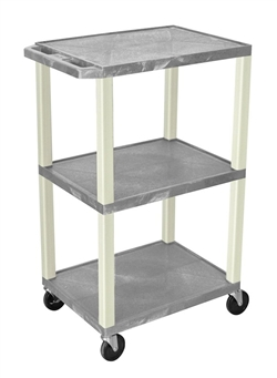 Grey and Beige Utility Presentation Cart