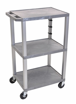 All Gray Utility Presentation Cart