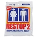 Restop 2 Disposable Travel Toilet