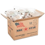 MRE Case of Lunch and Dinner meals