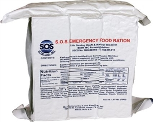 Emergency Food Bars- 1200 Calories, 36 per case, incredible value