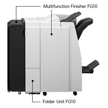FG10 Multifunction Finisher-Folder for ComColor
