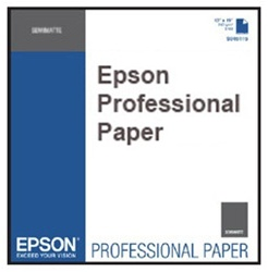"Epson S042331 Hot Press Bright 17"" x 22"" 25 sheets"