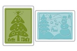 Sizzix  Folders2PK - Christmas Set #5