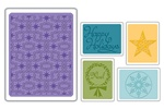Sizzix  Folders 5PK - Winter Set #3