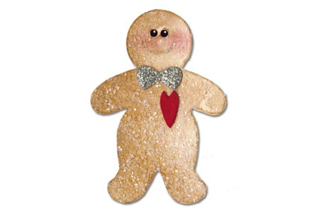 Sizzix Originals Die - Gingerbread Man #3