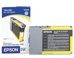 Epson T543400 110ml Yellow Ink for 4000, 7600 and 9600