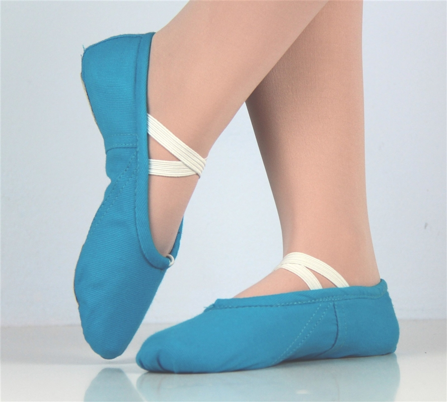 2d8367b64 Canvas ballet shoes Blue