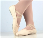 Canvas ballet shoes Flesh