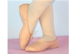 Full sole leather ballet shoes -- children size