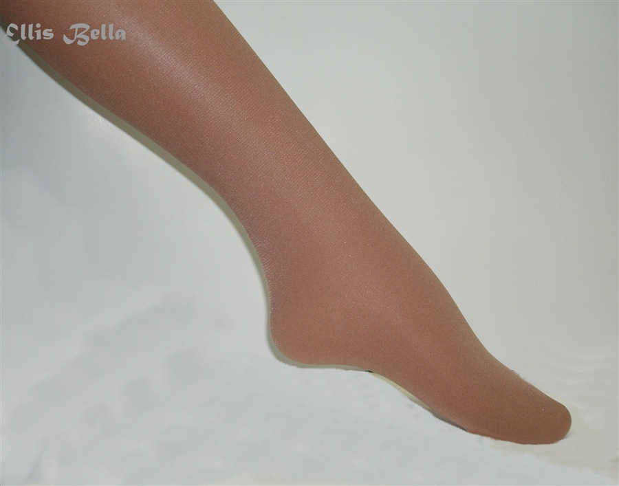 0e0cf6ab0 Shimmer tights -- full footed -- Toast
