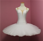 Ballet performance tutu -- Perfomance quality in white