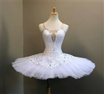 Ballet performance tutu -- Perfomance quality in pure white