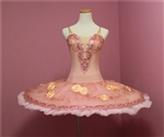 Ballet performance tutu -- Perfomance quality in Peach for adult