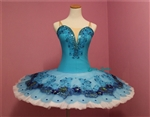 Ballet performance tutu -- Perfomance quality in Turquoise blue for adult