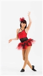 Tap / Jazz / Funk -- Funky skirt Feathered tutu