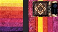 Celtic Radiance Quilt Kit -  Brights