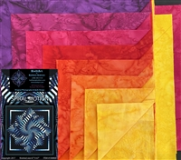 Spiral Motion Quilt Kit - Brights