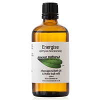 Energise Massage, Bath & Roller ball refill - 100ml