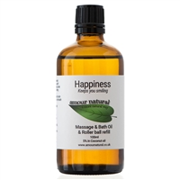 Happiness Massage, Bath & Roller ball refill - 100ml