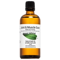 Joint and Muscle Ease Massage, Bath & Roller ball refill - 100ml