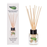 Orange, Clove and Cinnamon Reed Diffuser, 50ml