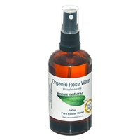 Organic Rose Flower Water - 100ml