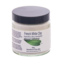 50g English White Clay