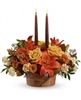 Glowing Autumn Centerpiece