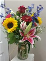 Stargazer Summer Bouquet