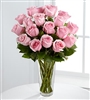 Pink Rose Bouquet / 18 roses