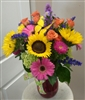 Sunflower Butterfly Bouquet