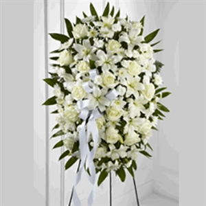 White Lily Easel