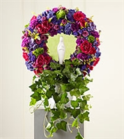 Virgin Mary Tribute Wreath