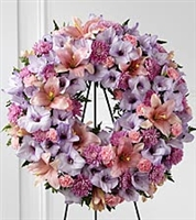 Lavender Essence Standing Wreath