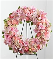 Sweet Memories Standing Easel Wreath