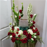 Kiss of Love Urn Wreath