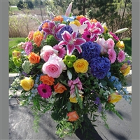 Joyful Remembrance Casket Spray