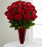In Love with Red Roses - 18 roses