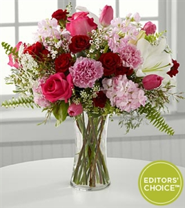 Donna's Choice - Pink Garden Bouquet