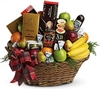 Fruit-N-Goodie Basket
