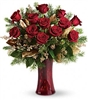 I Love You at Christmas Rose Bouquet
