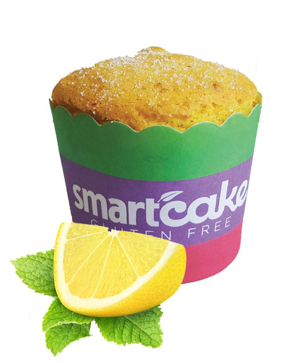 Lemon Smartcake 8 Cakes Gluten Free High Protein Zero Carbs