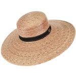 Women's Catalina Black Band Hat