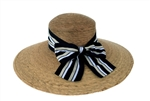 Women's Newport Mulit Striped Bow Hat