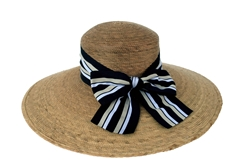 Women's Newport Mulit Striped Bow Hat (DISCONTINUED)