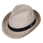 Unisex Fedora Black Band -  Medium