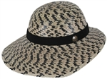 Women's Laurel Hat Black Checkered w/SSB
