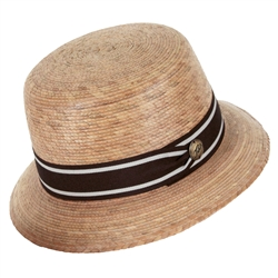 Women's Zoe Hat Brown Band